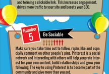 Pinterest Infographics / by Boom! Social with Kim Garst