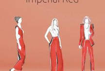 Imperial Red / This was one of the favourite trends from our SS16 fashion event, so here are our picks from around the centre