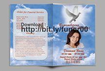 Kostenlose Beerdigungsprogramm Vorlage