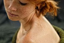 Redheads and freckles