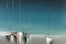 Tableau mer voilier