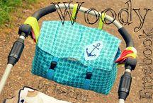 Woody / Kinderwagen-Tasche