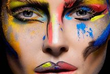 Make it up! / Get creative and try out these artistic looks!
