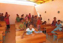 (الحرية ترصد واقع التعليم في مخيم امبره (الأمل الوحيد