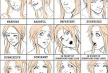 expressions et attitudes