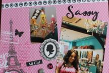 MY SCRAPBOOK CREATIONS / by Miss Sheenie