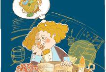 Cristóforo y los espaguetis / Álbum ilustrado de Cristobal Colón para niños. Escritora Rosa Villegas