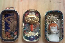 Metal Mania / I really love tins and cans, actually almost anything made of metal, the rustier and more distressed it is, the better.  / by Gigi Deal