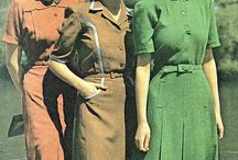 British WW II -fashion