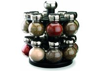 Spice Jars / A collection of spice jars and racks
