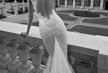 Vintage/modern wedding gowns