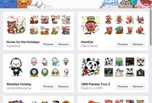 Facebook Stickers / by Lê Anh
