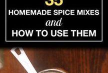 Mat & Recept kryddor etc...
