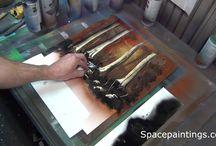 spray festészet