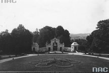 Pałac Łosiów w Narolu - Stare zdjęcia