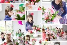 Florist birthday party