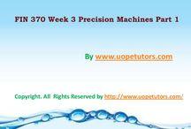 FIN 370 Week 3