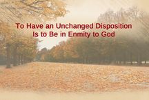 """Almighty God's Word """"To Have an Unchanged Disposition Is to Be in Enmity to God"""""""