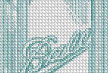 cross stitch/ Embroidery/ perler bead/ friendship bracelets/ seed bead / by Brielle Jaramillo