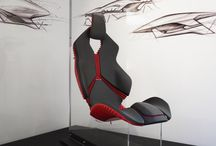 car seat mock up