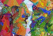 the magical world textile and artistic Kaffe Fassett