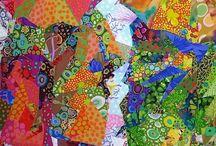Art Quilts - Arte em Quilts (Arte em Tecidos)