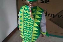 Costume for carneval on ice