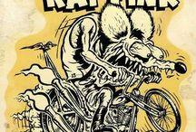 Rat Fink Art