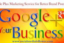Google plus marketing service
