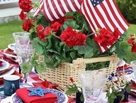 Memorial Day/4th of July decorating ideas from The Barn Nursery / by The Barn Nursery, Chattanooga!   garden, gift, home  decor