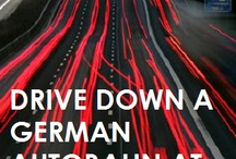driving a high performance car on Autobahn