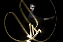 Light Calligraphy By Kaalam aka Julien Breton / French artist Julien Breton aka Kaalam started calligraphy in 2001 by copying Arabic calligraphers. Self-taught, he began to incorporate long exposure photography to create incredible light paintings around the world. All of the images in this gallery were created in-camera, meaning there is no Photoshop trickery or post-production manipulation involved in creating these works of art. / by Zhesi Wencai