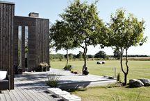 Terrazas con Tarima Exterior / Una selecta coleccion de las #terrazas con #tarima_exterior de toda clase
