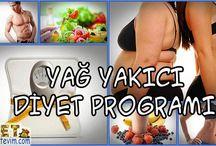 Yağ yakıcı diyet programı