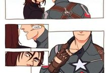Capitan America, Winter soldier , Falcon etc