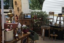 Funky Vintiques Travling Boutique Booth Pics / Pics of our booth set up at markets.