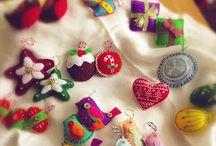 Christmas Makes / All the stuff I've made for Christmas....