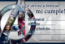 Cumple Advengers