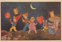old children's illustrations