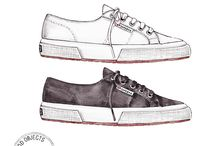 Superga Illustrations / In collaboration with @GoodObjects on Instagram  www.superga.com.sg