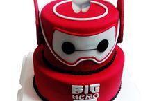 big hero taart