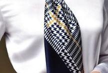 foulard indossati