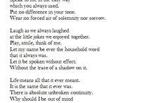 Funeral readings poems