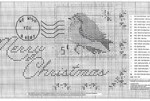 Cross stitch patterns / by Vilma Argenta