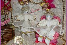 ✿⊱LARISSA✿⊱╮ Munecas, Dolls, Bambole, Kуклы, Puppies✿⊱╮  LARISSA ✿⊱╮ / Bambolina elegantissima.