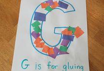 letter g / by Melissa Meek-Nelson