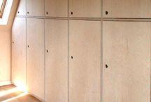 cupboards/storage