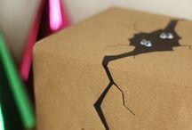 Pakowanie prezentów, ozdabianie kopert