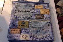 BORSE / idee template e tutorial per realizzare borse in materiali diversi