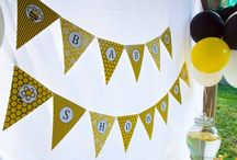 BumbleBee Party / Bumblebee baby shower, kids party, or christening